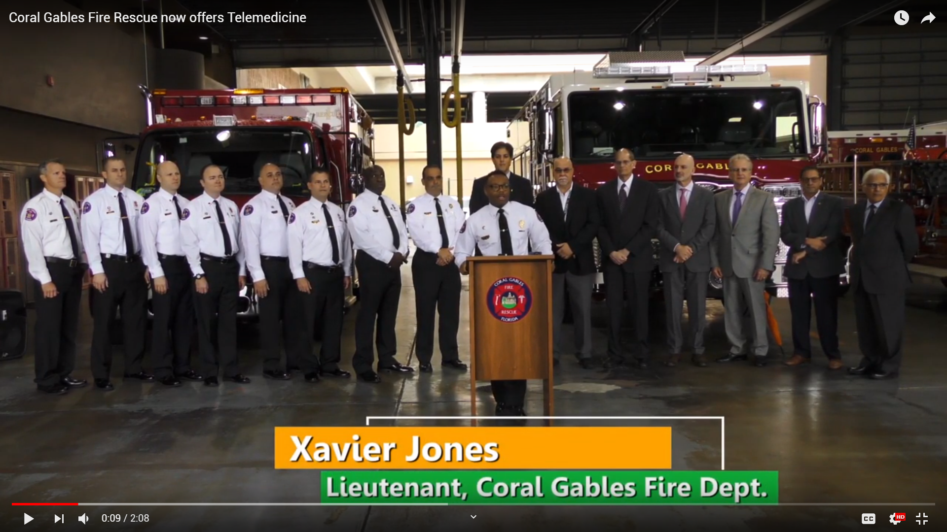 The Gordon Center to Partner with Coral Gables Fire Department, Specialty Telehealth Systems and Local Hospitals to Help Patients with Life Threatening Emergencies