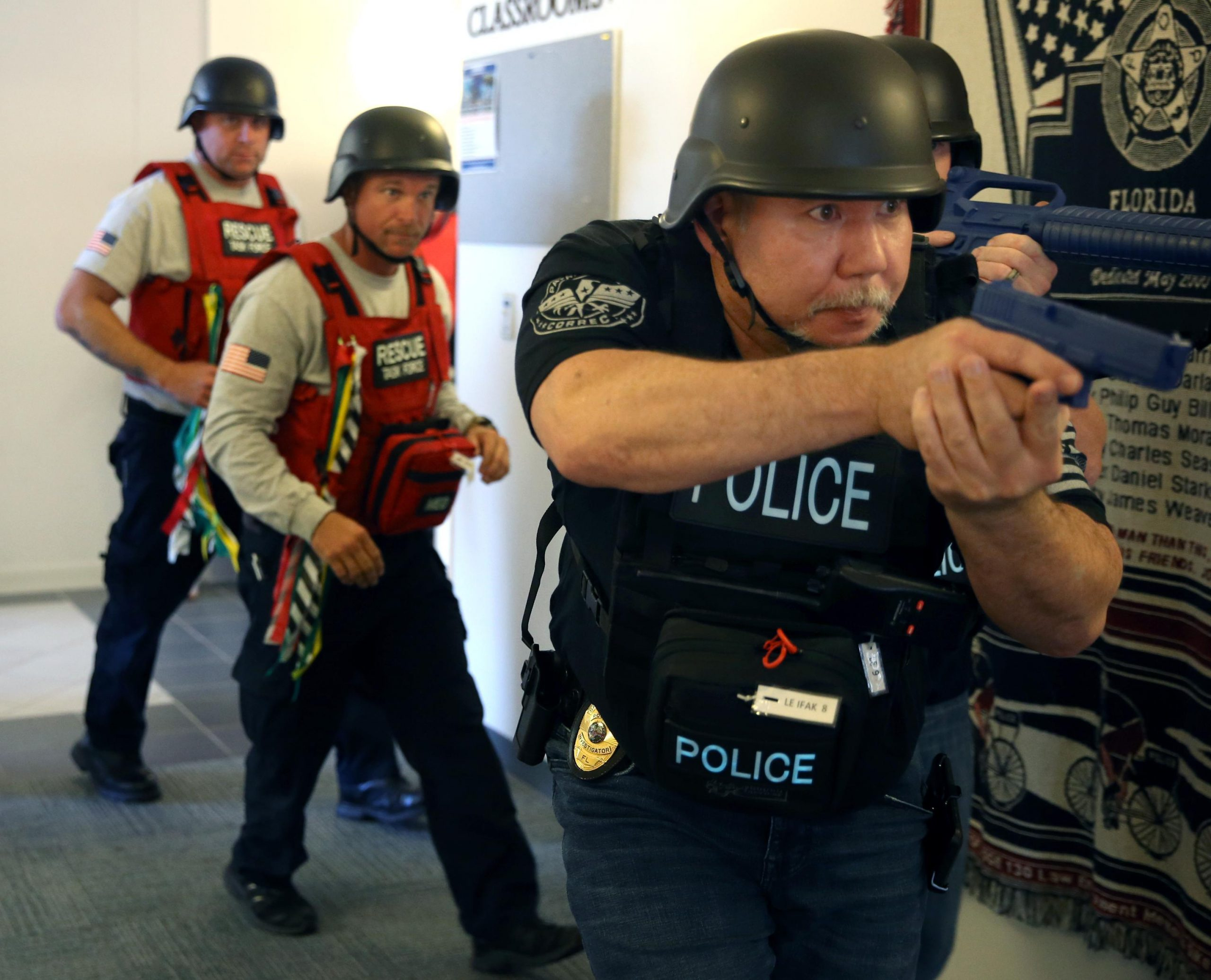 GALLERY: Active Shooter Training GCSC North Bay Campus