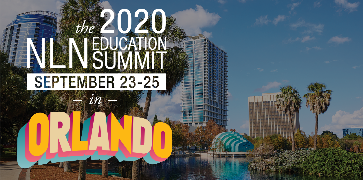 NLN Education Summit 2020 Orlando Cover Header